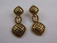 Gold Avon Earrings / Vintage 1960's Earrings / Avon