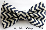 vintage-style-hair-bow-clip-navy-blue-and-white-chevron-st