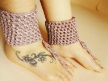 Barefoot Sandals Crochet Sandles Women Summer