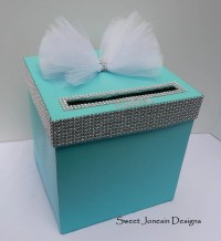 Wedding Ideas: Tiffany Blue with a Touch of Bling!