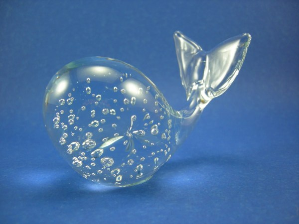 Art Glass Controlled Bubble Paperweights