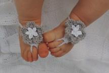 Barefoot Baby Sandals Girls Saldals Preciouslittlelamb
