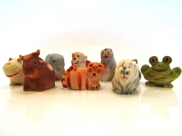 Miniature Resin Animal Figurines - Year of Clean Water