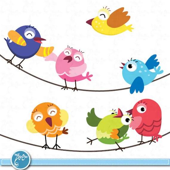 birds clip art cute baby
