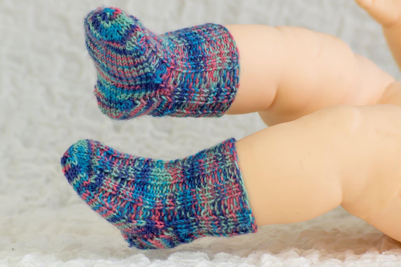 Free Knitting Pattern Baby Socks Sample Pattern Free Baby