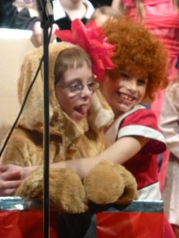 Sandy the Dog Costume Child Size for Musical Annie Jr RESERVED