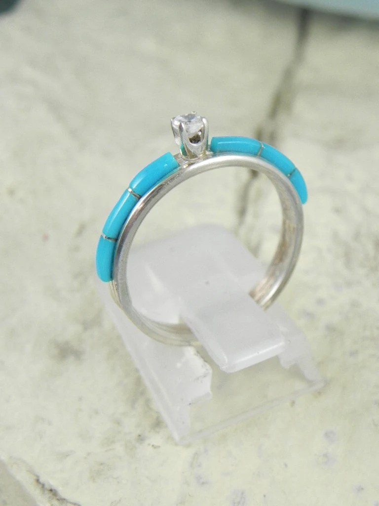 Native American Turquoise Engagement Ring