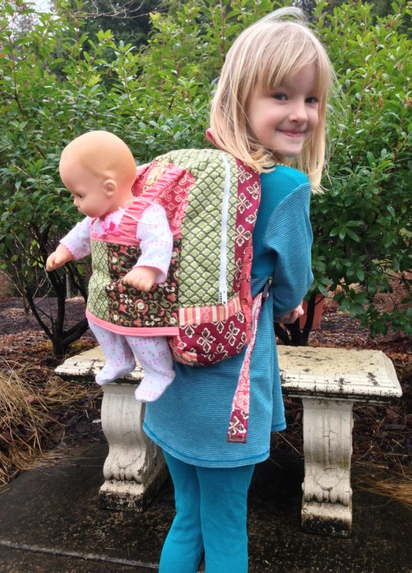 Friend Pack Doll Carrier Kids Backpack