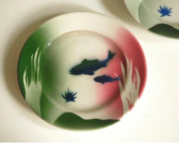 Vintage Restaurant Ware Syracuse Jackson China Fish Bowl
