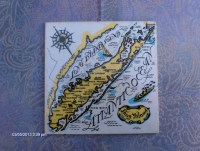 Vintage Ceramic Tile of Long Island / Long by ...