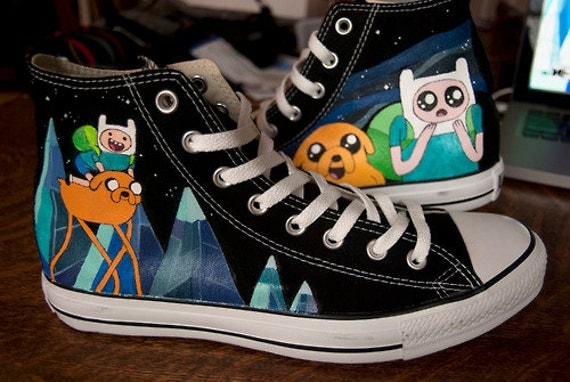 Items similar to Custom High Top Chuck Taylor39s Toms or