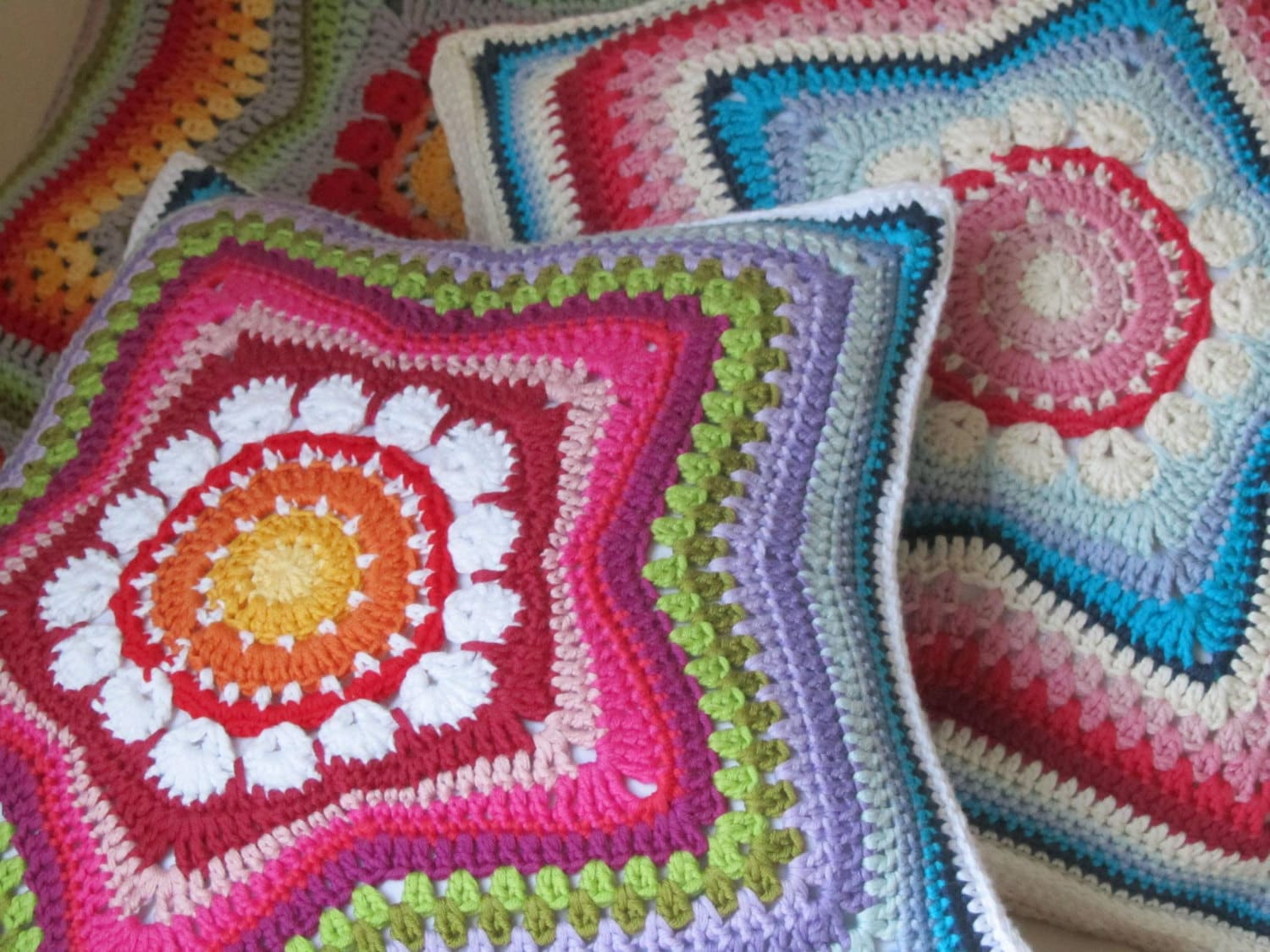 5Pointed Star Pillow PDFPattern