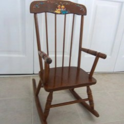 Antique Child Rocking Chair Conference Room Chairs Without Wheels Furniture