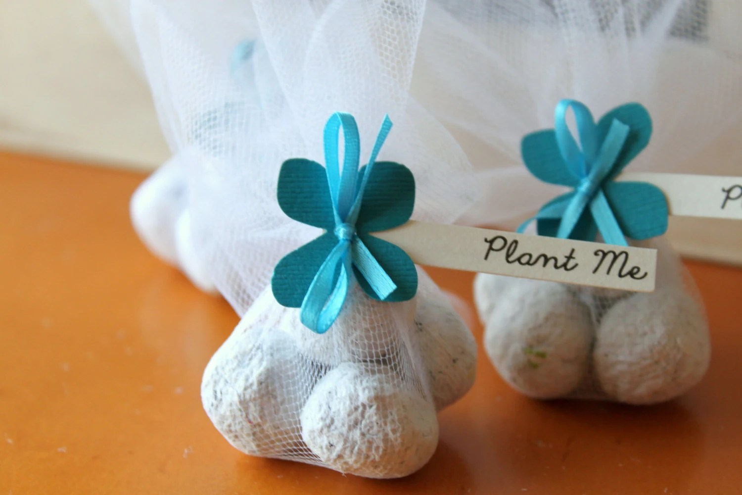 Unique Wedding Favor Plantable Recycled By