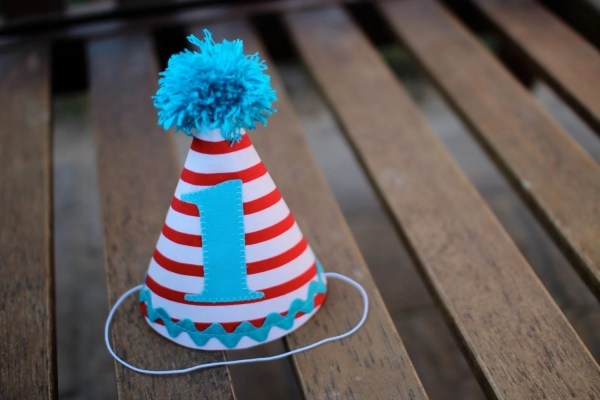 Birthday Hat Cat In Inspired Dr Seuss