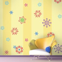 Flower Wall Stencils for Painting Girls or Baby by ...