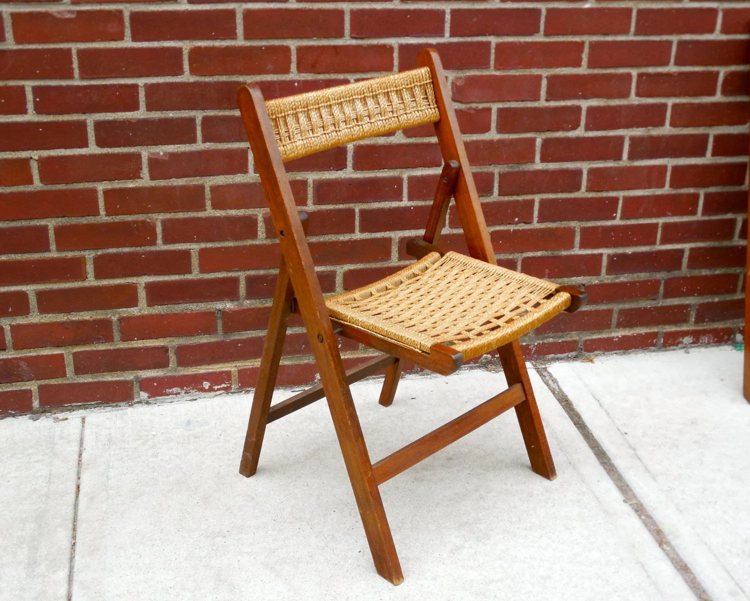 Hans Wegner Folding Chair Reserved Vintage Rope Folding Chair Hans Wegner Style