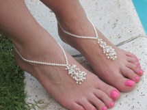 Wedding Party Barefoot Sandals
