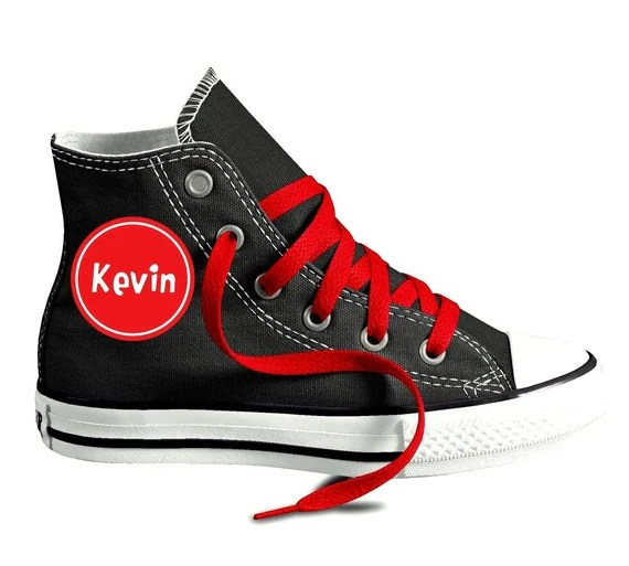 Personalized Name Custom Chuck Taylor Converse Youth Shoes