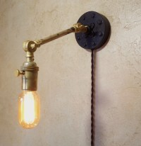 Industrial Articulating Wall Sconce Lamp. by ...