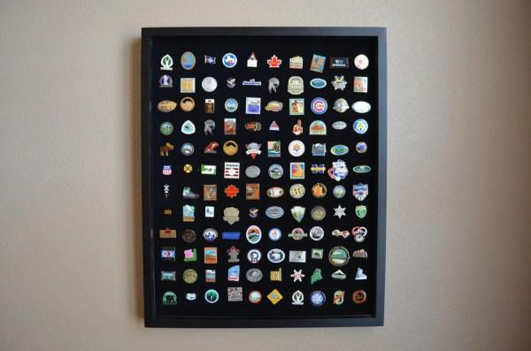 Lapel Pin Display Case