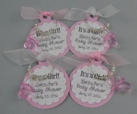 Items similar to Personalized It's A Girl Baby Shower ...