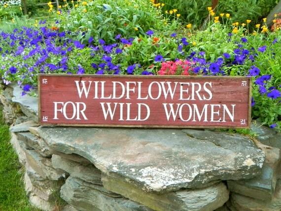 items similar garden sign