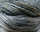 Weaving and Lace - handspun cotton, silk an bamboo yarn