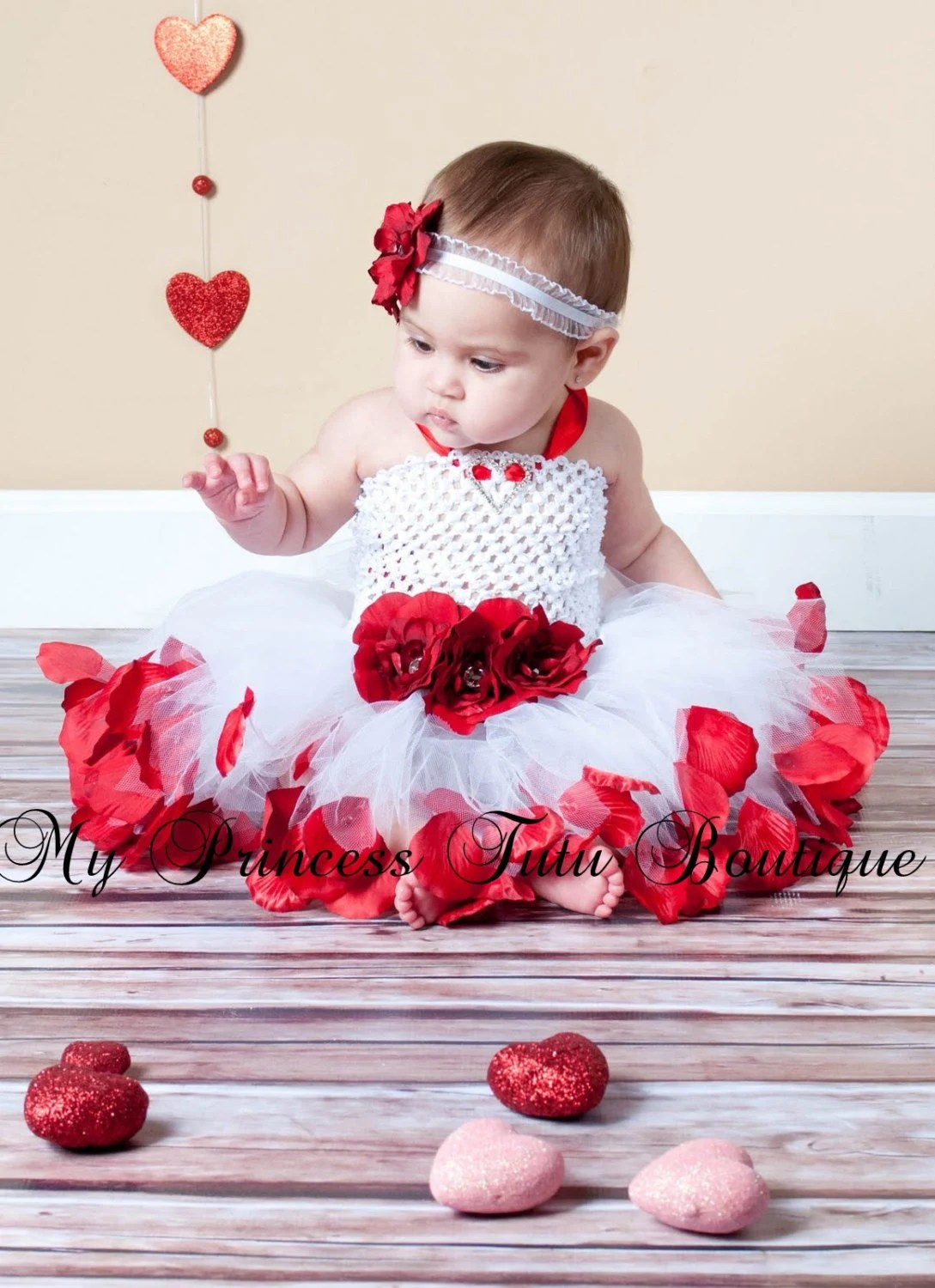 Reserved Listing For Rajasekar Flower Girl Tutu Dress Rose