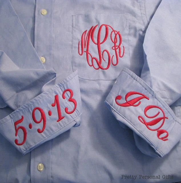 monogrammed oxford shirts