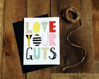 Download Love your guts   Etsy