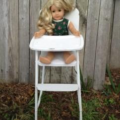 American Girl Doll High Chair Hawaii Price Antique 1950s Highchair Amsco Costco Vtg E