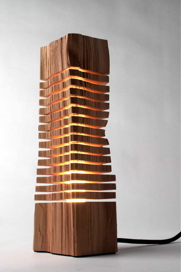 Minimalist Wood Sculpture Fine Art