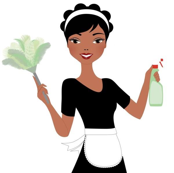Woman Cleaning Digital Clip Art Alice 383 Lovelytocu