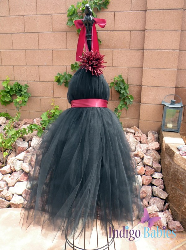 Tutu Dresses Dress Flower Girl Black