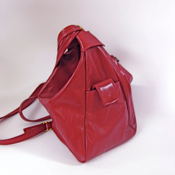 Convertible Leather Backpack Purse Handbag Shoulderbag