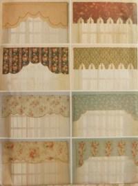 Reversible Valances Sewing Pattern UNCUT Butterick 6563