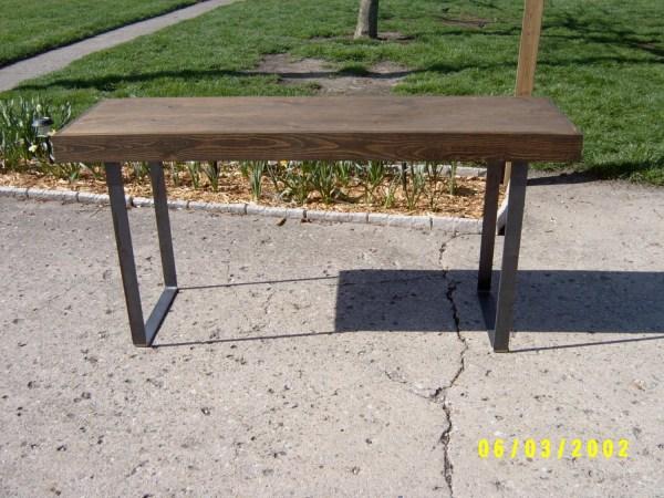 Desk Rustic Table Vanity Wood