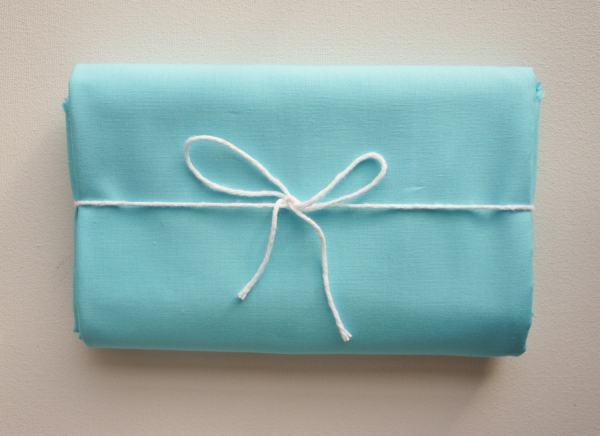 Standard Size Pillow Case Aqua