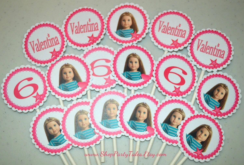 American Girl Doll Printable Valentines Birthday By