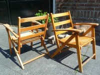 VTG Toddler Chairs // ONE // 4-6 yrs // Plywood // by ...
