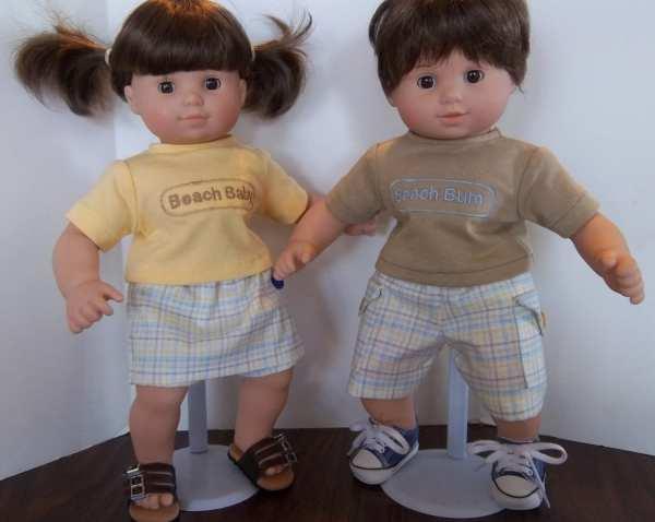 American Girl 15 Bitty Twins Doll Clothes Boy