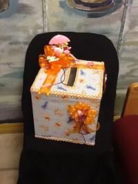 Winnie the Pooh baby shower money box