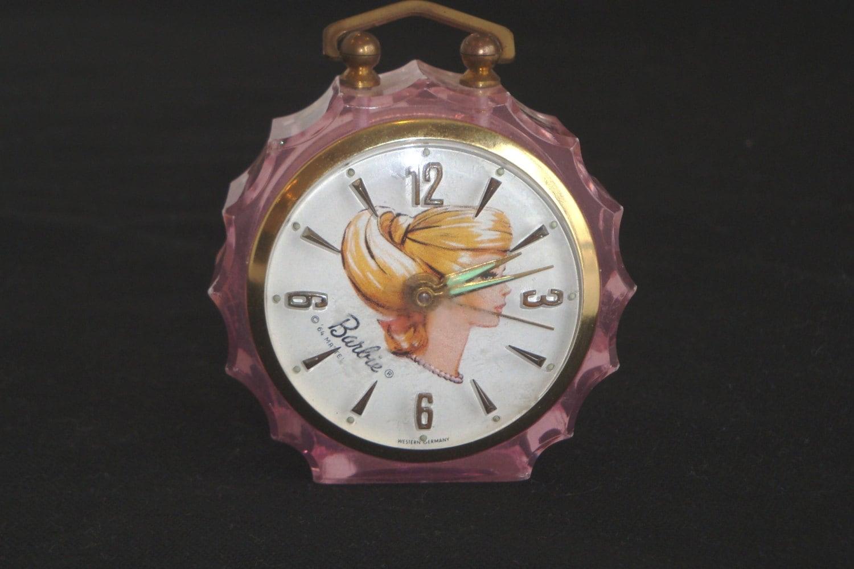 Vintage Alarm Clock Alarm Clock Retro Barbie Clock