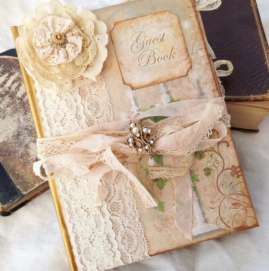 Wedding Guest Book Enchanted Forest theme