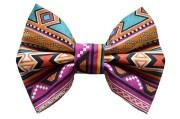 aztec tribal print hair bow