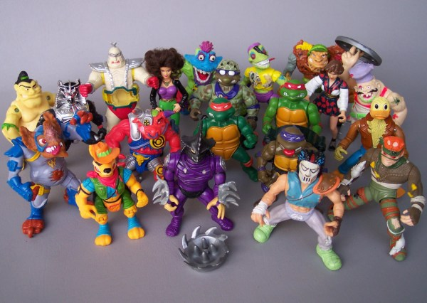 Vintage Teenage Mutant Ninja Turtles Lot Of 20 Figures