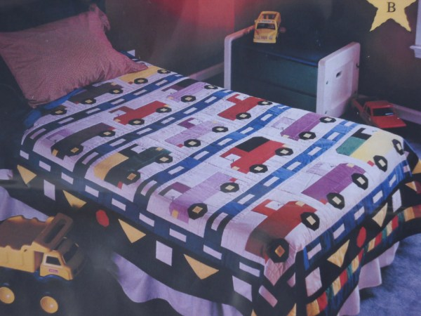 Cars and Trucks Twin Bedding