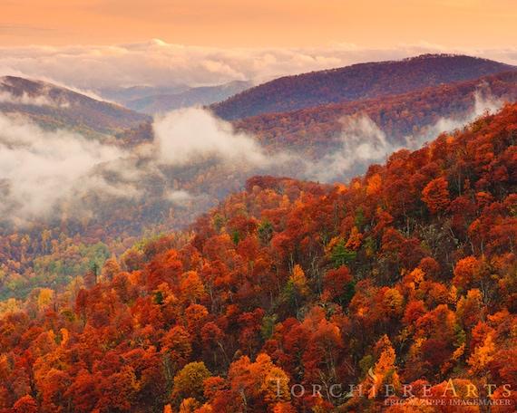 Blue Ridge Parkway Fall Wallpaper Autumn Mountains Fall Landscape Photography Shenandoah