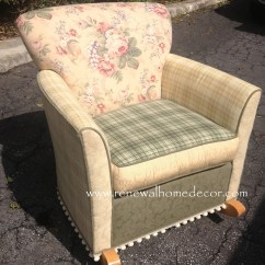 Kids Upholstered Rocking Chair Accent Chairs Clearance Slipcover Cool Awesome Small